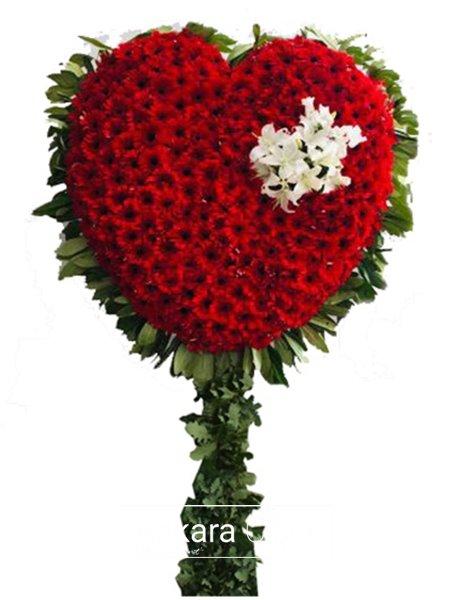 Kalp Şeklinde Pano Çiçeği