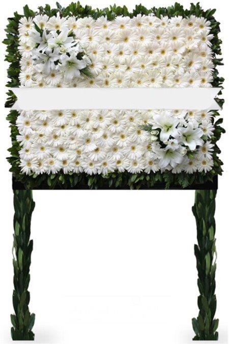 Beyaz Pano Çiçek