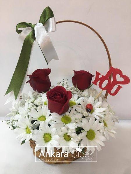 Çiçek Sepeti Kır Çiçekleri